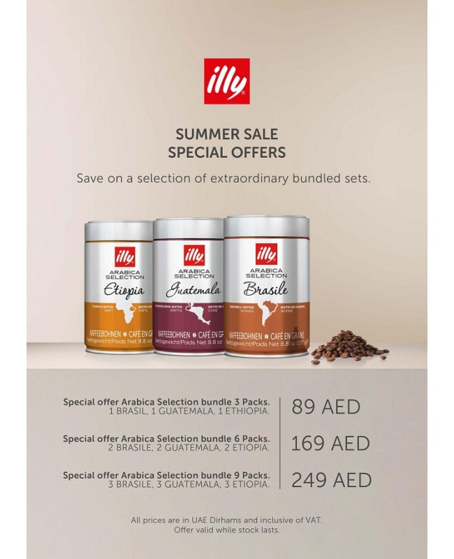 Arabica Selection - Single Origin - Whole Beans (250g) - 9 Pieces