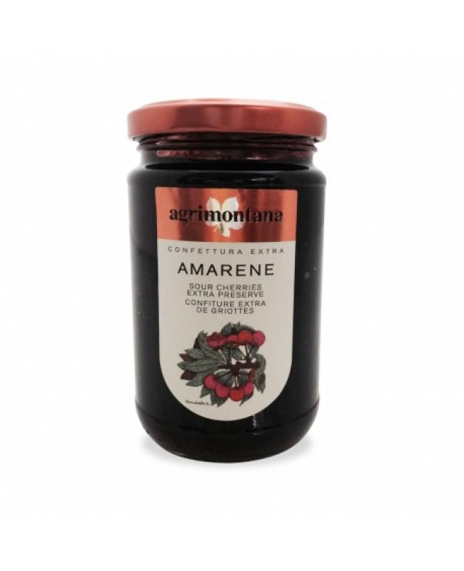 Sour cherries extra jam