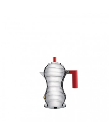 Moka Red 1 Cup Alessi