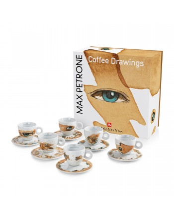 Max Petrone Set of 6 Cappuccino Cups