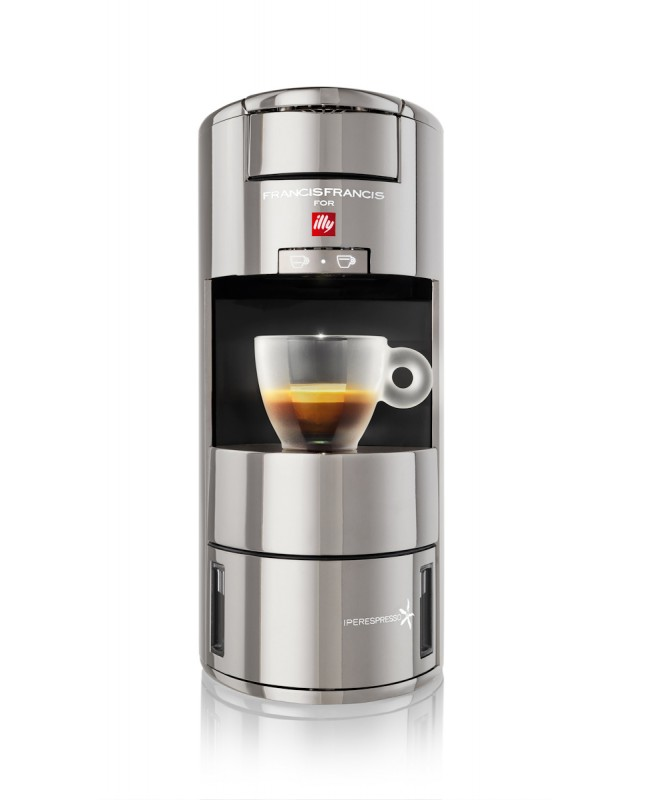 X9 iperEspresso Machine Metallic Chrome