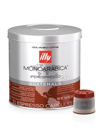 illy IPSO Capsules Monoarabica Single Origin Guatemala