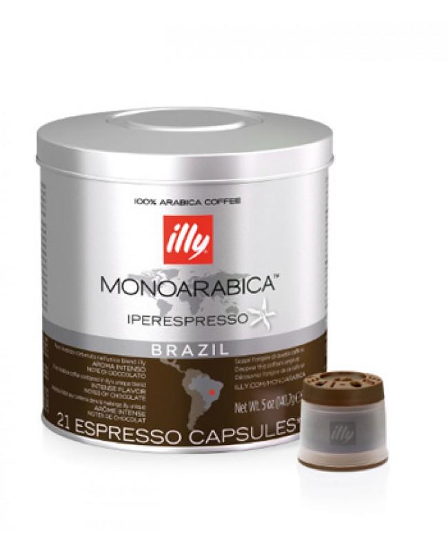 illy IPSO Capsules Monoarabica Single Origin Brazil