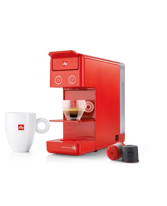 Y3.2 IperEspresso  Coffee Machine - Red & 21 Capsules